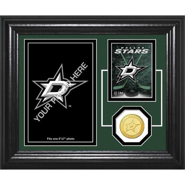 "Dallas Stars ""Fan Memories"" Bronze Coin Desktop Photo Mint"