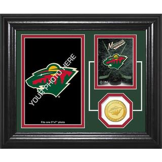 "Minnesota Wild ""Fan Memories"" Bronze Coin Desktop Photo Mint"