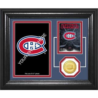 "Montreal Canadians ""Fan Memories"" Bronze Coin Desktop Photo Mint"