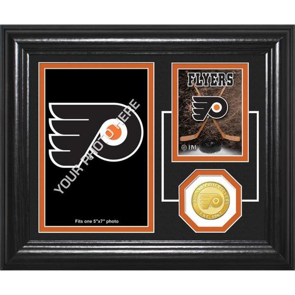 "Philadelphia Flyers ""Fan Memories"" Bronze Coin Desktop Photo Mint"