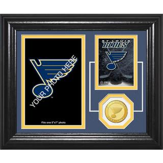 "St. Louis Blues ""Fan Memories"" Bronze Coin Desktop Photo Mint"