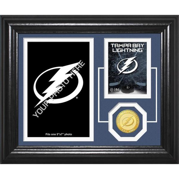 "Tampa Bay Lightning ""Fan Memories"" Bronze Coin Desktop Photo Mint"