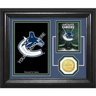 "Vancouver Canucks ""Fan Memories"" Bronze Coin Desktop Photo Mint"