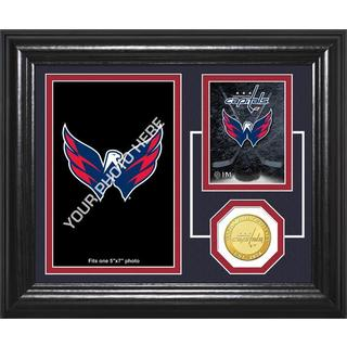 "Washington Capitals ""Fan Memories"" Bronze Coin Desktop Photo Mint"