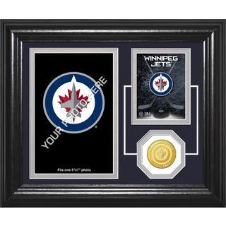 "Winnipeg Jets ""Fan Memories"" Bronze Coin Desktop Photo Mint"