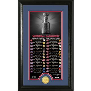 "Montreal Canadiens ""Legacy"" Supreme Bronze Coin Panoramic Photo Mint"