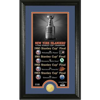 "New York Islanders ""Legacy"" Supreme Bronze Coin Panoramic Photo Mint"