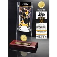 Zdeno Chara Ticket & Bronze Coin Acrylic Desk Top