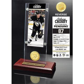 Sidney Crosby Ticket & Bronze Coin Acrylic Desk Top