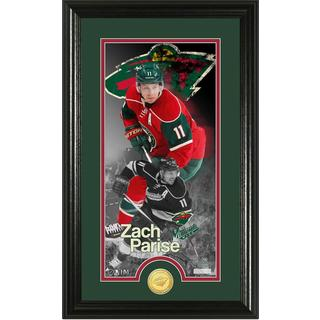"Zack Parise ""Supreme"" Bronze Coin Panoramic Photo Mint"