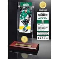 Tyler Seguin Ticket & Bronze Coin Acrylic Desk Top