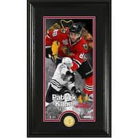 "Patrick Kane ""Supreme"" Bronze Coin Panoramic Photo Mint"