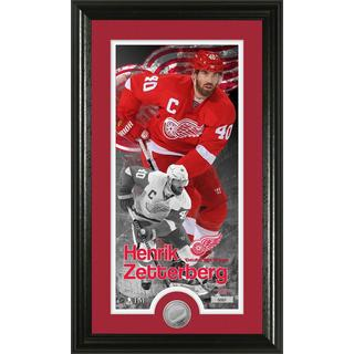 Henrick Zetterberg Supreme Minted Coin Panoramic Photo Mint