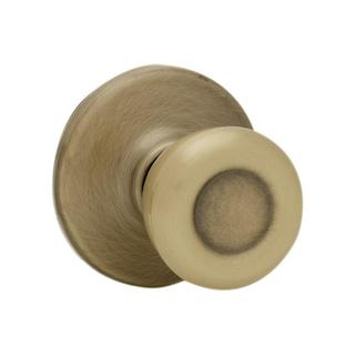 Kwikset Tylo Antique Brass Hall/Closet Knob