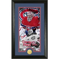 Carey Price Supreme Bronze Coin Panoramic Photo Mint
