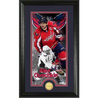 Alex Ovechkin Supreme Bronze Coin Panoramic Photo Mint