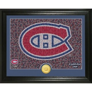 "Montreal Canadians ""Mosaic"" Bronze Coin Photo Mint"
