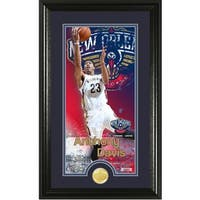 "Anthony Davis ""Supreme"" Bronze Coin Panoramic Photo Mint"