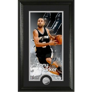 "Tony Parker ""Supreme"" Minted Coin Panoramic Photo Mint"