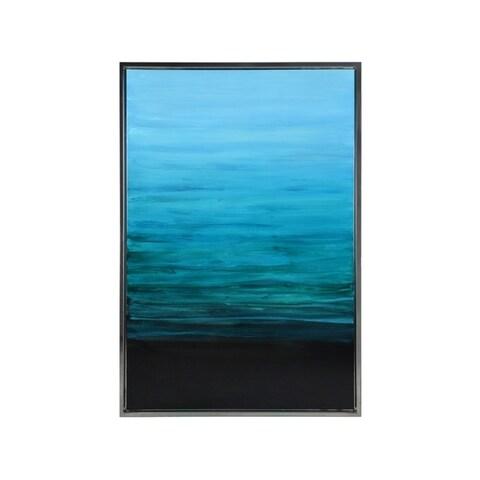 Sunpan 'Ikon' Framed Azure Sky 40x60-inch Canvas