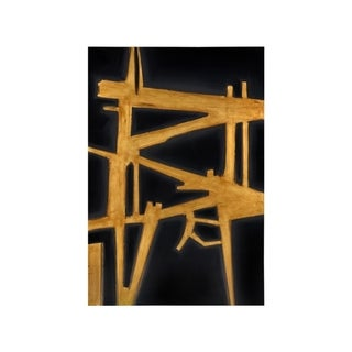 Sunpan 'Ikon' 'Gold Fever' 40x60-inch Canvas