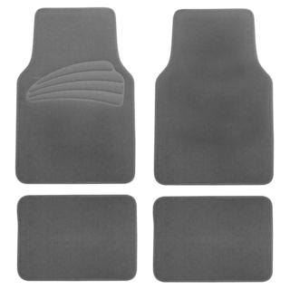 FH Group Gray Premium Carpet Floor Mats