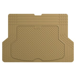 FH Group Tan Premium Rubber Trimmable Trunk Liner/Cargo Mat
