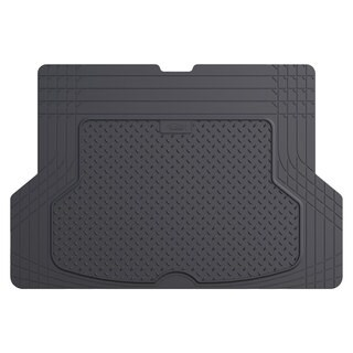 FH Group Gray Premium Rubber Trimmable Trunk Liner/Cargo Mat