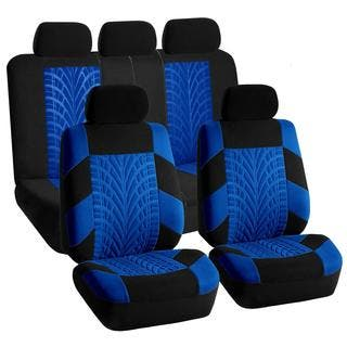 FH Group Blue And Black Travel Master Car Seat Covers