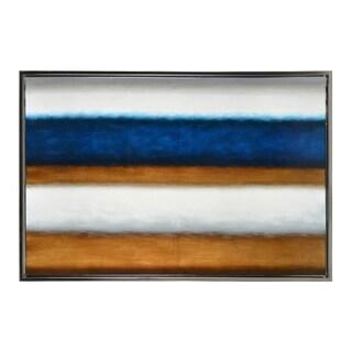 Sunpan 'Ikon' Framed Shimmer - 40x60-inch Canvas