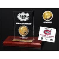 Montreal Canadiens Etched Acrylic Desktop