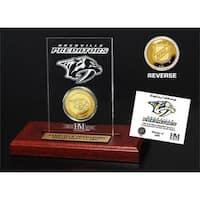 Nashville Predators Etched Acrylic Desktop