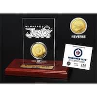 Winnipeg Jets  Etched Acrylic Desktop