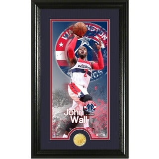 "John Wall ""Supreme"" Bronze Coin Panoramic Photo Mint"