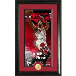 "Derrick Rose ""Supreme"" Bronze Coin Panoramic Photo Mint"