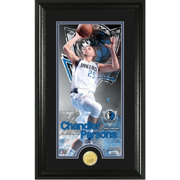 "Chandler Parsons ""Supreme"" Bronze Coin Panoramic Photo Mint"