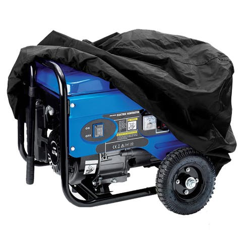 FH Group Black Extra Large 37-inch Premium Electrical Generator Cover