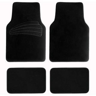 FH Group Black Premium Carpet Floor Mats