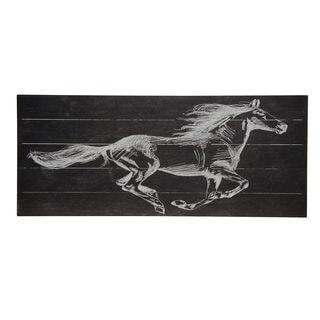 Bombay Company Running Horse Wall Art