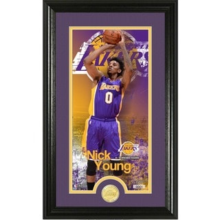 "Nick Young ""Supreme"" Bronze Coin Panoramic Photo Mint"