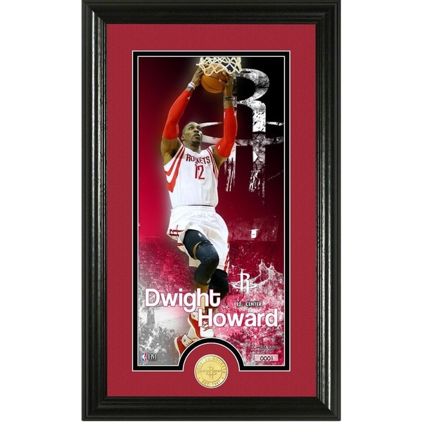 "Dwight Howard ""Supreme"" Bronze Coin Panoramic Photo Mint"