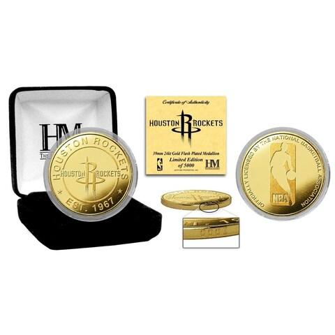 Houston Rockets Gold Mint Coin - Multi-color