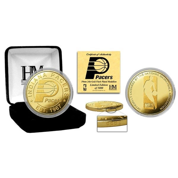 Indiana Pacers Gold Mint Coin