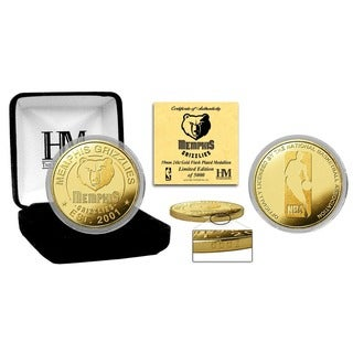Memphis Grizzlies Gold Mint Coin