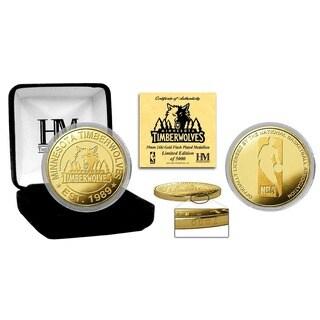 Minnesota Timberwolves Gold Mint Coin