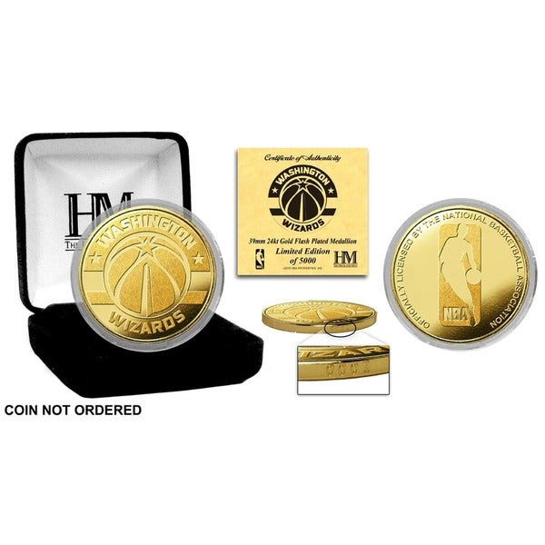 Washington Wizards Gold Mint Coin