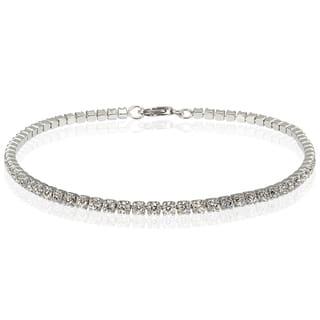 Icz Stonez 4 1/5ct TGW Cubic Zirconia Link Bracelet|https://ak1.ostkcdn.com/images/products/10790816/P17838365.jpg?impolicy=medium