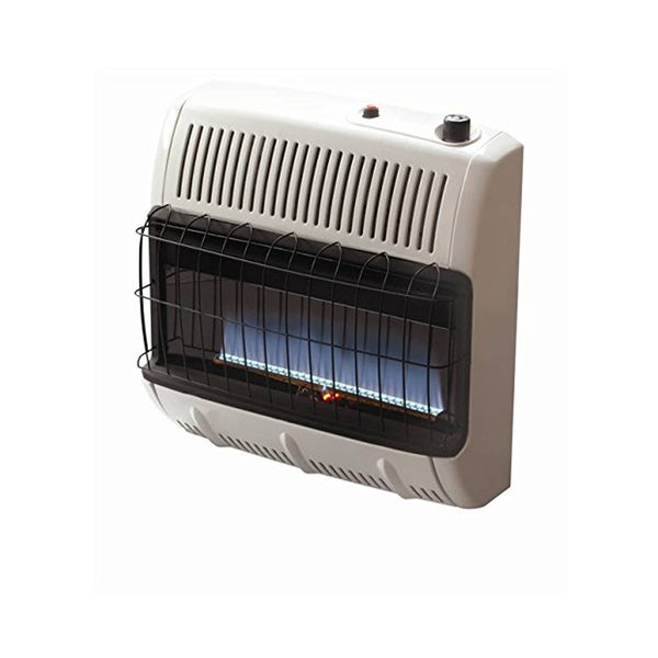 Mr heater 30 000 btu blue flame vent free propane heater Propane stove left on overnight