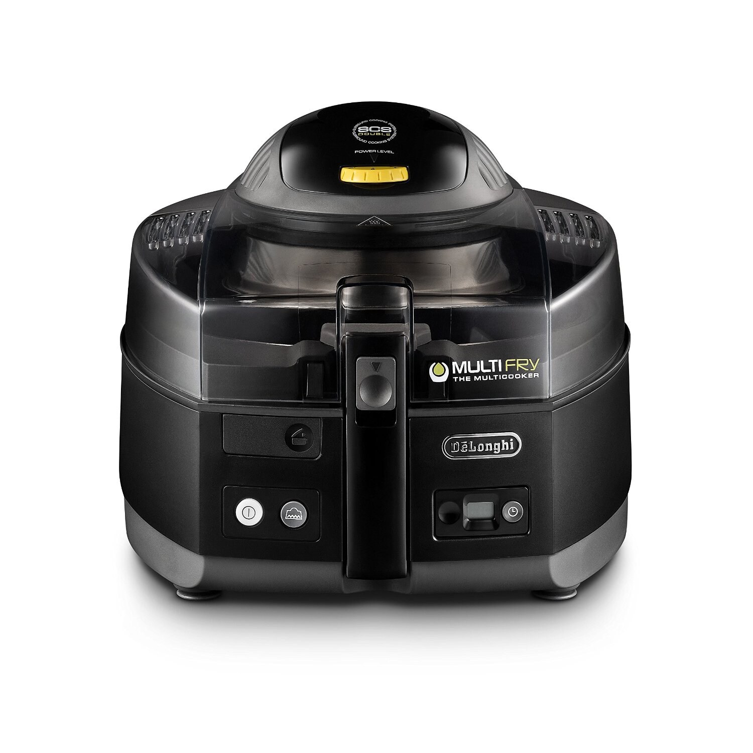 DeLonghi FH1163 Black MultiFry Low Oil Fryer and Multi Cooker DeLonghi MultiFry, Low Oil Fryer and Multi Cooker