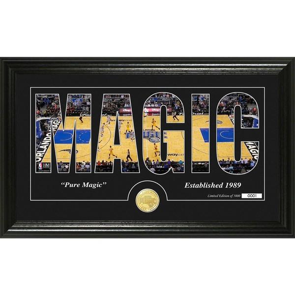 """Orlando Magic """"Silhouette"""" Bronze Coin Photo Mint"""